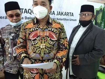 Ulama DKI Jakarta Sarankan Masyarakat Tunda Acara Keagamaan dan Sosial Secara Berkerumun