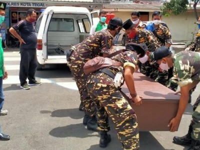 Banser Tegal Dilatih Proses Pemakaman JenazahCovid-19