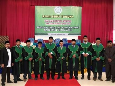 Wisuda Perdana STISNU Aceh Kukuhkan Puluhan Sarjana