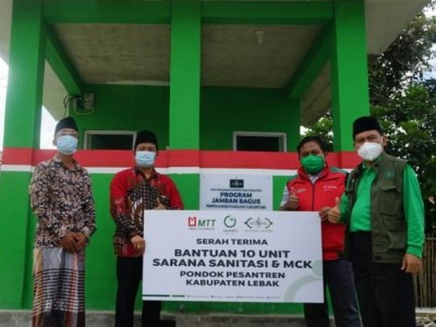 Program Sanitasi NU Care Sentuh 1.300 Jiwa di Lebak