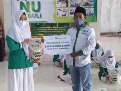 NU Care Sampang Salurkan Logistik untuk Santri Yatim Setiap Bulan