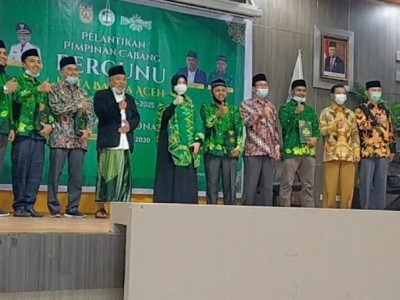 Ketum PP Pergunu Lantik PC Pergunu Kota Banda Aceh
