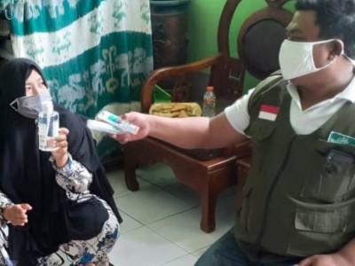 Giat LPBINU Kota Denpasar Cegah Covid di Awal Tahun