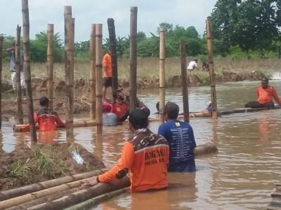 NU Peduli Atasi Dampak Jebolnya Tanggul Sungai Wulan Kudus