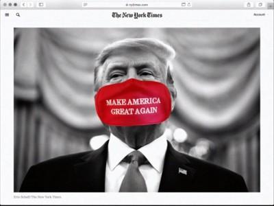 Donald Trump, Presiden Sekarang Gaya Usang