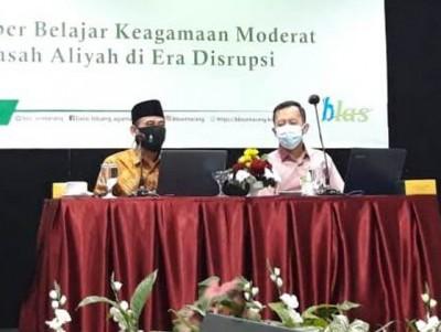 Ketua ISNU Semarang Ajak Balitbang Kemenag Kuatkan Sumber Belajar Keagamaan Moderat