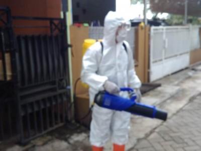 Tim NU Peduli Covid-19 DKI Jakarta Disinfeksi 1200 Rumah di Cisauk