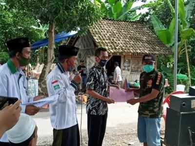 NU Wuluhan Jember Himpun Dana Rp21 Juta untuk Perbaiki Rumah Ambruk