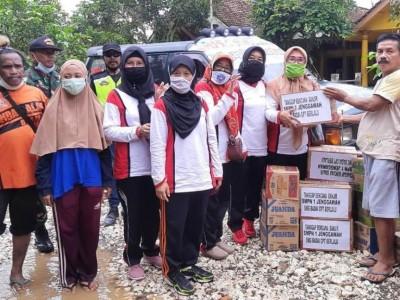 MWCNU Jenggawah Jember Bantu Korban Banjir di Wonosari