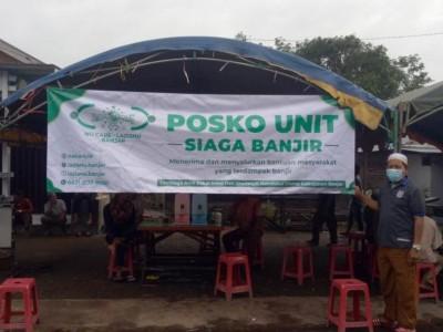 LAZISNU Banjar Dirikan Posko Bantuan untuk Warga Terdampak Banjir