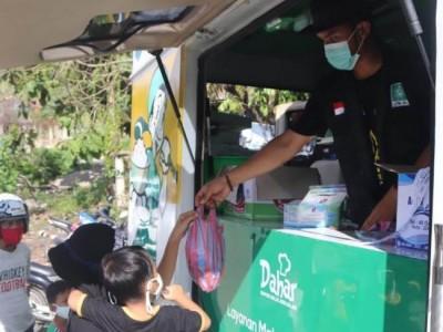 Mobil 'Dahar' Kembali Penuhi Kebutuhan Pangan Pengungsi Gempa Sulbar