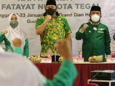 Gelar Raker, Fatayat NU Kota Tegal: Prioritas Perbaiki Database Anggota
