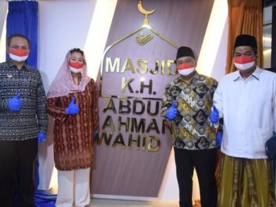 Harlah Ke-95 NU, BP2MI Resmikan Masjid dan Aula KH Abdurrahman Wahid