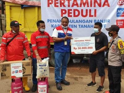 Pertamina Salurkan Bantuan Hingga 1 Miliar untuk Terdampak Bencana