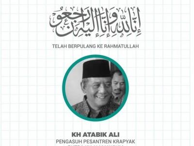 Innalillahi, Pengasuh Pesantren Krapyak KH Atabik Ali Wafat