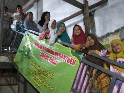 LAZISNU Surabaya Bantu Pembangunan Pesantren di Kawasan Dolly