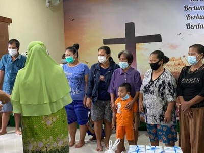 NU Kudus Peduli Banjir Salurkan Belasan Ribu Paket Sembako