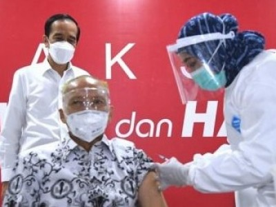Vaksinasi Covid-19 untuk 5.500 Wartawan Dimulai Hari Ini