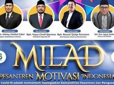 Peringati Harlah Ke-98 NU, Pesantren Motivasi Indonesia Gelar Webinar Kemandirian Ekonomi