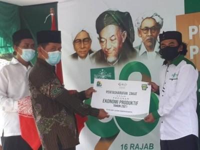 Peringati Harlah NU, LAZISNU Bantul Yogyakarta Salurkan Bantuan untuk UMKM