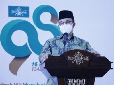 Gubernur DKI Anies Baswedan Apresiasi NU Online Super App dan TVNU