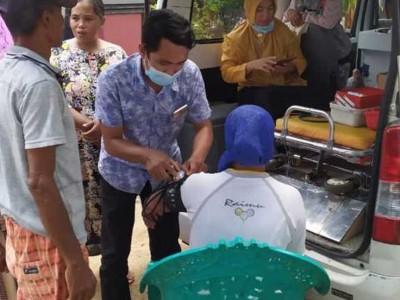 LKNU Lumajang Layani Pengobatan Gratis untuk Korban Banjir