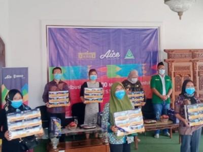 Ansor Lampung Distribusikan 150 Ribu Masker untuk Masyarakat