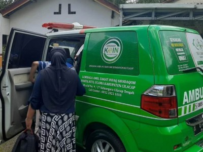 Mobil Kemanusiaan LAZISNU Cilacap Aktif Layani Masyarakat