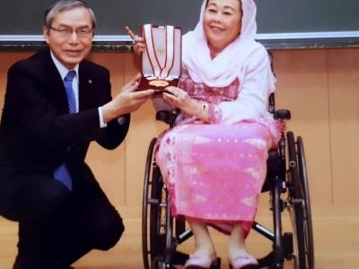 Ucapkan Ultah Ke-73, Menlu Sebut Nyai Sinta Nuriyah Inspirasi Perempuan Indonesia