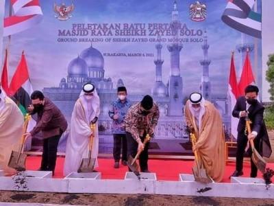 Harapan Ansor Solo Dibangunnya Masjid Sheikh Zayed