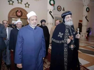 Kisah Interaksi Grand Syekh Al-Azhar dengan Paus Kristen Koptik