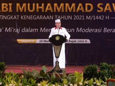 Isra' Mi'raj Ajarkan Keseimbangan dalam Beragama