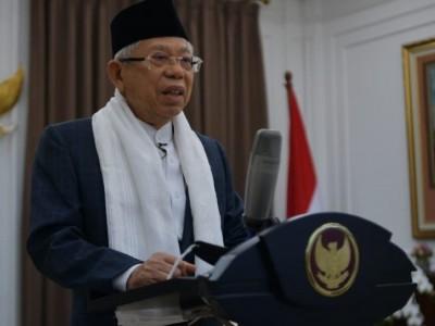 Wapres Tegaskan Umat Islam Harus Moderat antara Ibadah dan Muamalah