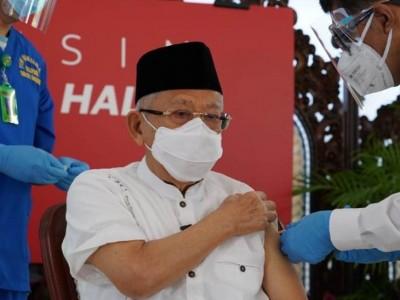 Wapres: Vaksinasi di Bulan Ramadhan Tak Batalkan Puasa