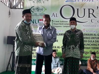 Bakti Sosial dan Khataman Qur'an Warnai Peluncuran Al-Qur'an Center NU Pringsewu
