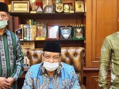 Ketua NU Makassar Laporkan Perkembangan Organisasi kepada KetumPBNU