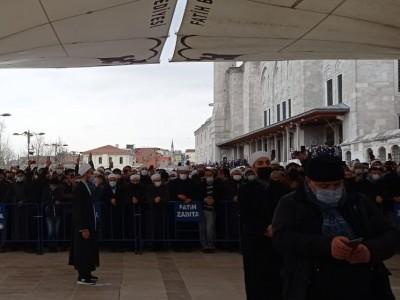 Syekh Ali Al-Shabuni Dishalatkan dan Dimakamkan di Istanbul