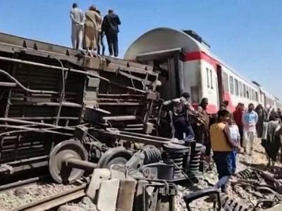 Dua Kereta Saling Tubruk di Mesir, 32 Orang Meninggal dan 66 Luka-luka