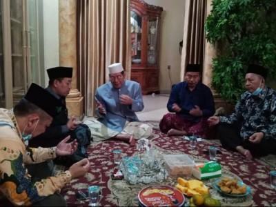 Panitia Konferwil Ke-20 PWNU Jakarta Kunjungi Kiai dan Tokoh Sepuh NU DKI