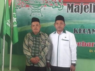 Terpilih Jadi Rais dan Ketua, Mukhlis -Taufik Fokus Mengabdi untuk NU Gadingrejo