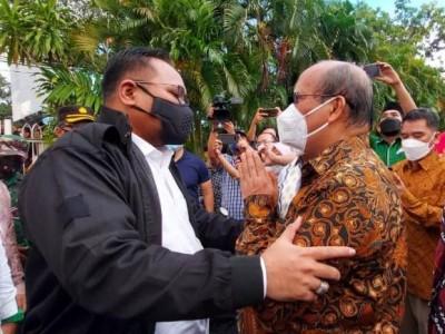 Menag Kunjungi Lokasi Ledakan Bunuh Diri di Gereja Katedral Makassar