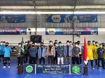 Kuatkan Silaturahim, IPNU Tapin Utara Kalsel Gelar Turnamen Futsal