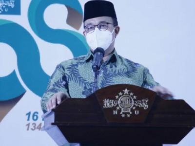 Gubernur Anies Harap PWNU DKI Jakarta Jadi Pengayom Umat di Ibu Kota