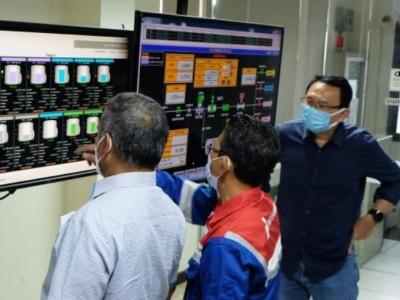 Komisaris Utama Pertamina Tinjau Implementasi Digitalisasi Fuel Terminal Boyolali