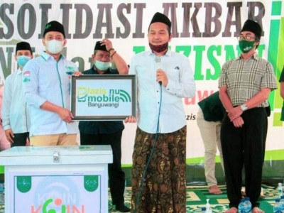 Masyarakat Banyuwangi Sambut Baik LAZISNU Mobile