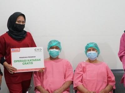 NU Care-LAZISNU Gelar Operasi Katarak dan Khitan Gratis