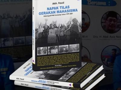 Kader PMII Sumenep Tulis Buku Napak Tilas Gerakan Mahasiswa