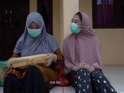 'Alhamdulillah', Ajakan Hadapi Pandemi dengan Berbagi