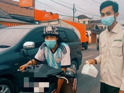 Ramadhan Berbagi, Upaya Pelajar NU Way Kanan Lampung Tebar Kebaikan