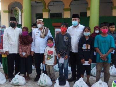 Santunan di Lampung Timur Ingatkan Keutamaan Doa Anak Yatim